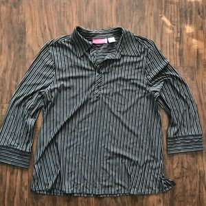 Liz Lange Maternity Women's Medium Button Up Shirt
